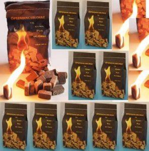 10 x 100 (1000 pièces) Allume-feu - un produit 100% naturel de la marque Norr-Dan image 0 produit