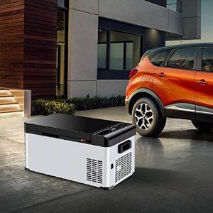 17.3L Réfrigérateur De Voiture Réfrigérateur Maison Double Compresseur De Voiture Petit Mini Réfrigérateur Congélateur de la marque Hongxj image 0 produit