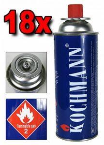 18 x Cartouches à gaz MSF- 1 A pour Gazinière Cuisinière Camping 227 g. Cartouche gas TÜV de la marque Kochmann image 0 produit