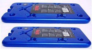 2x boîte Thermos Accumulateur de froid Ice Pack de voyage plat Petit Bloc De Glace Ice Lot de 200g de la marque Thermos image 0 produit