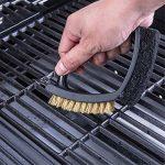 3 En 1 BROSSE Nettoyage Barbecue Pour Nettoyer RAPIDEMENT & Efficacement Tous Les Grils,2Pcs de la marque Pei image 2 produit