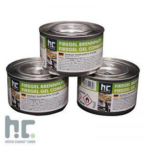 4,8kg pâte à combustible (24x 200g)–pour Gastronomie et des ménages–pour maintenir au chaud la nourriture–Livraison gratuite de la marque Höfer Chemie image 0 produit