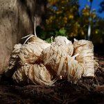 5 kg Allume-feu en laine de bois bio, env. 370-400 pièces. Allume pour cheminée. Idéal pour chauffer la maison de la marque Natural Firelighters image 1 produit