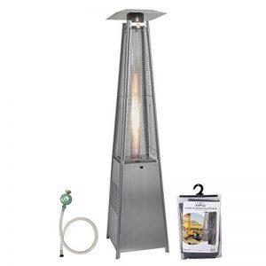 A+Life - Keops - Chauffage au gaz d'extérieur 13kW - Détendeur, tuyau et housse inclus de la marque A+LIFE image 0 produit