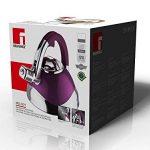 Acier Inox Induction Bouilloire 3L (Bouilloire avec sifflet intégré, Bouilloire, Violet laqué, poignées Soft Touch) de la marque Bergner image 1 produit