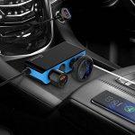 Adaptateur Allume-cigare, 120W 3-Socket Allume-cigare Répartiteur d'alimentation de 12V/24V Chargeur de Voiture avec 6.8 A 4-ports USB Chargeur de Voiture pour iPhone, iPad, Samsung Galaxy, GPS de la marque CHGeek image 1 produit