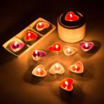 Ailiebhaus Parfumée Bougies Lot de 50 Bougies Forme de Coeur d'amour de la marque Ailiebhaus image 3 produit