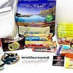 Aliments pour vos activités à l'extérieur - Végétalien - 782g- 2488Kcal - Provisions pour les randonnées d'une journée (24h) de la marque wolfaround image 1 produit