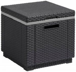 Allibert Glacière/table d'appoint Ice Cube gris de la marque ALLIBERT image 0 produit