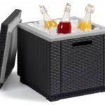 Allibert Glacière/table d'appoint Ice Cube gris de la marque ALLIBERT image 3 produit