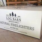 Allume-feu Bois Naturel Eco–40par Boîte.Excellent pour feux d'éclairage en poêles, barbecues, fours à pizza et fumeurs. de la marque Log Barn image 4 produit