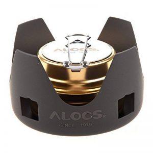 ALOCS Mini ultra-leger Burner alcool Rechaud exterieure Camping four avec support de la marque Alocs image 0 produit