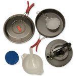 Andes - Ustensiles de cuisine portables pour camping - poêle/bouilloire/casserole - aluminium anodisé de la marque Andes image 1 produit