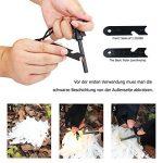 ANGAZURE Kits de Survie d'urgence, Outils de Survie Professionnel Kit de Trousse de Survie en Plein airPour voyager Randonnée Cyclisme Escalade Chasse de la marque ANGAZURE image 3 produit