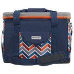 Anndora Glacière 40L Bleu/Orange 43x 30x 31cm–Polyester Sac pique-nique isotherme de la marque ANNDORA image 1 produit