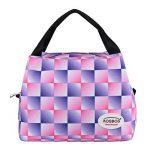 Aosbos Sac Isotherme Femme Sac à Déjeuner Lunch Bag Repas Thermique avec Style Carreux de la marque Aosbos image 1 produit