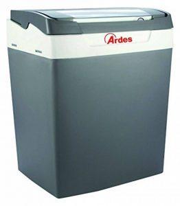 Ardes AR5E30A Portable Électrique Réfrigérateur Pratiko 30 Litres Maison et Câble avec Allume-cigare Plug pour Voiture amovible Couvercle Unisexe, Gris de la marque Ardes image 0 produit