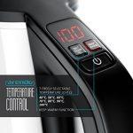 Arendo - Bouilloire Électrique Thermostat réglable | Bouilloire Inox Arrêt | Réglable Pour Bouilloire à Thé / 7 niveaux de température pouvant être sélectionnés dans une plage de 40° C - 100° C | Affichage à LED | Filtre anticalcaire intégré | 1,5 litre | image 4 produit