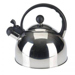 axentia 220353 Bouilloire à sifflet en inox 2,5 L Poignée Noir de la marque axentia image 0 produit
