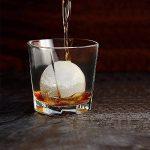 Bac à Glaçon en Silicone - AXHKIO Moules à Glace en silicone 100% BPA Free Ice Cube Plateaux pour Whisky, Cognac, Rhum, Vodka, Gin, Cocktails, Pudding de glace, etc de la marque AXHKIO image 4 produit