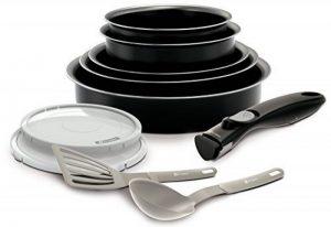 BACKEN 181001 -Set de poêles et casseroles -10 Pièces Noir -Tous feux dont induction de la marque BACKEN image 0 produit