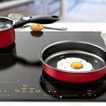 BACKEN 181103 -Set de casseroles - 4 Pièces Rouge -Tous feux dont induction de la marque BACKEN image 1 produit