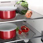 BACKEN 181103 -Set de casseroles - 4 Pièces Rouge -Tous feux dont induction de la marque BACKEN image 3 produit