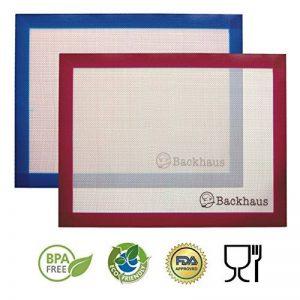 Backhaus Tapis de Cuisson Anti-Adhérent en Silicone et Fibre de Verre [Lot de 2], Feuille de Cuisson et Pâtisserie de Standard Restauration de la marque Backhaus image 0 produit