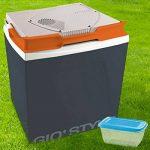 Bakaji Réfrigérateur électrique 26lt voiture maison 12–230V Glacière Gris foncé Dimensions: 39,5x 29,5x 45cm récipient hermétique en plastique de 1Lt pour aliments inclus Gio 'style de la marque Bakaji image 1 produit