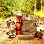 Bambaw Set couverts en bambou | Couverts en bois | Kit couverts écologique | Couteau, fourchette, cuillère et paille| Couverts de voyage | Couverts camping avec housse de rangement | 20 cm de la marque Bambaw image 4 produit