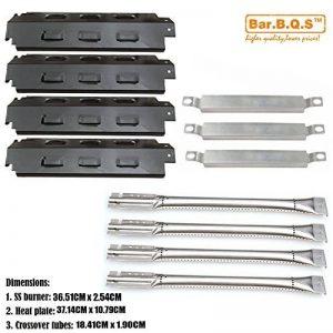 bar. b.q.s de rechange Charbroil 463420507,463420509, 463460708, 463460710Grill à gaz brûleurs en acier inoxydable, Report tubes, assiettes en porcelaine de la chaleur en acier de la marque Bar.B.Q.S image 0 produit