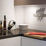 Barre à couteaux aimantée de 40 cm de marque Coninx - Bandeau magnétique de suspension pour couteaux en acier inoxydable/inox - Porte-Couteaux Magnétique - Support Range Couteaux de la marque Coninx® image 2 produit