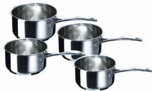 Bekaline 12066984 Chef Série de 4 Casseroles en acier Inoxydable 14/20 cm de la marque bekaline image 0 produit