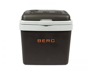 BERG - Grande glacière électrique - Boîte chauffante - 33 L - Camping - Plage - Déjeuner - Pique-nique - Nourriture isolée de la marque BERG image 0 produit