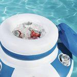 Bestway Glacière flottant avec 6 portes verre Diamètre 70 cm de la marque Bestway image 3 produit