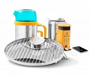 BIOLITE Campstove 2 Réchaud de Camping avec Grille Mixte Adulte, Orange, M de la marque BIOLITE image 0 produit