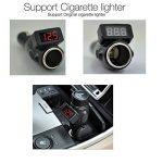 BlueBeach 2 en 1 Allume-Cigare Digital LED Tension Surveillance Voltmètre Tester pour Batterie 12V et 24V Cigarette Prise Allume de la marque BlueBeach image 1 produit