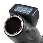 BlueBeach 2 en 1 Allume-Cigare Digital LED Tension Surveillance Voltmètre Tester pour Batterie 12V et 24V Cigarette Prise Allume de la marque BlueBeach image 2 produit