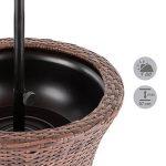 Blumfeldt Beerboy - Table de jardin avec bassine à glaçons pour boissons fraiches (hauteur réglable entre 56 et 97cm) rotin synthétique de la marque Blumfeldt image 2 produit