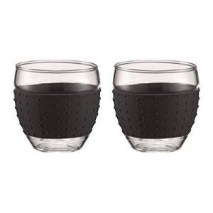 Bodum 11185-01 - Pavina - Set 2 Verres - 0,35 L - Noir de la marque Bodum image 0 produit