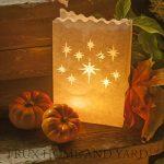 Bougies Chauffe-Plat à LED Sans Flamme -24 Bougies Jaune Clignotant avec Bonus 12 Sacs Lumineux Inclus de la marque Frux Home and Yard image 3 produit