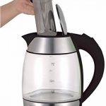 Bouilloire électrique en verre avec passoire à thé en acier inoxydable 1,8 l 2200 W LED sans BPA de la marque TurboTronic image 2 produit