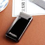 Briquet Double Arc Électrique, AMANKA Briquet USB Electrique Sans Flamme, Briquet Rechargeable à l'Epreuve du Vent, avec USB Câble de la marque AMANKA image 3 produit