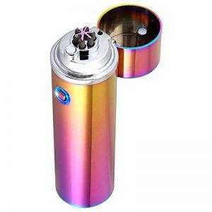 Briquet électronique rechargeable par USB Briquet tempête sans flamme pour camping, par Qimaoo de la marque QIMAOO image 0 produit