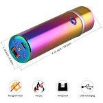 Briquet électronique rechargeable par USB Briquet tempête sans flamme pour camping, par Qimaoo de la marque QIMAOO image 3 produit