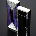Briquet Sarome Briquet 9–32 SD-Argent/noir-line-Diamant de la marque Sarome image 2 produit