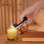 Briquet USB Tacklife Briquet Rechargeable Anti-vent et Anti-éclaboussure Batterie en Li-ion 220mAh 3,7V En Utilisant 400 Fois après une Charge 1pcs Câble de Recharge USB Fourni - ELY03 de la marque Tacklife image 4 produit