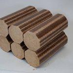 Briquettes de hêtre Normandy - 12kg pour poêle et four à pizza, bois de chauffage, buchettes compressées à combustion lente.Bois de hêtre 100% naturel et écologique de la marque Normandy Briquettes image 2 produit
