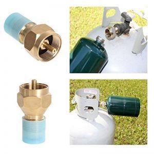 Broadroot adaptateur recharge propane LP Bouteille de gaz Réservoir coupleur Chauffage de camping de la marque Broadroot image 0 produit