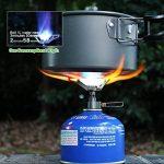 BRS-3000T Mini poêle de camping Ultralight 25g pour BBQ Picnic Cookout de la marque SUNRIS image 2 produit